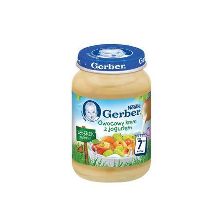 Гербер Бебешки плодов десерт с йогурт 190 гр.